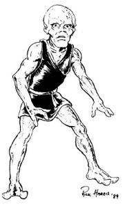 A Drobate (The 'moon men' of myth.)