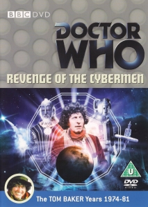Revenge of the Cybermen DVD Cover
