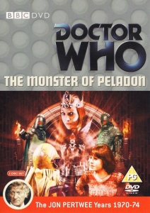 The Monster of Peladon DVD Cover
